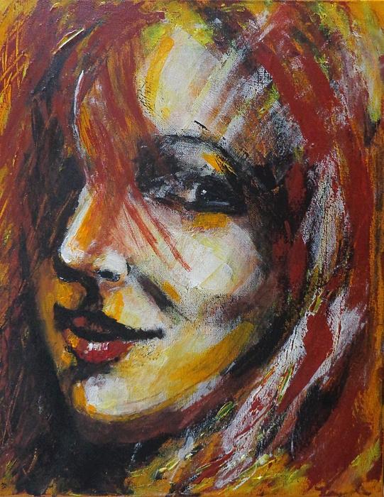 Carmen Tyrrell - Smile - Portrait Of A Woman