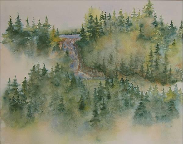 Smokey Mountain Memories 3 Print by Lisa Bell