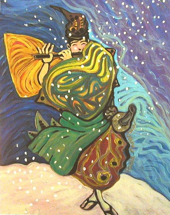 Paula R ANDERSON - Snow Flute