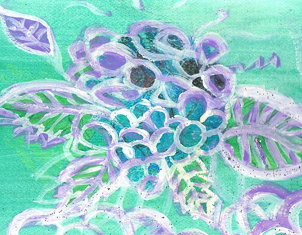 Softly And Tenderly Print by Anne-Elizabeth Whiteway