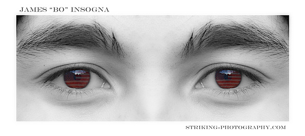 Son's Eyes Print by James BO  Insogna