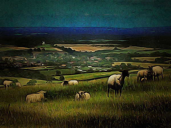 Dorothy Berry-Lound - South Downs View