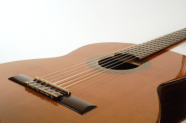 Spanish Guitar By David Thompson