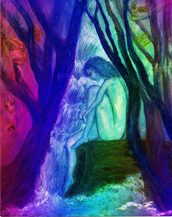 Spirit Guides II Print by Patricia Motley