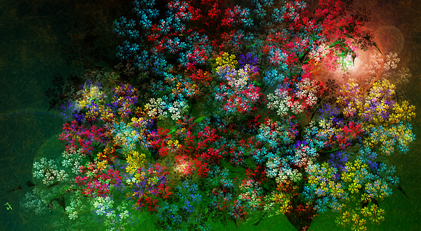 Spring Bouquet Print by Adam Vance
