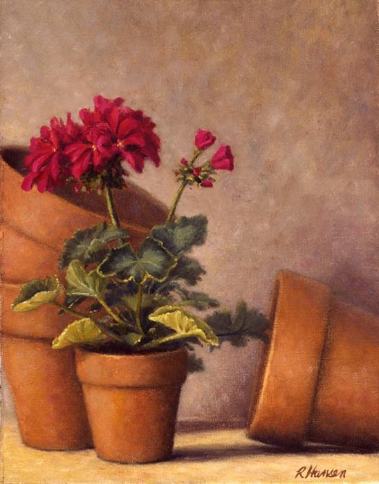 Spring Planting Print by Rick Hansen
