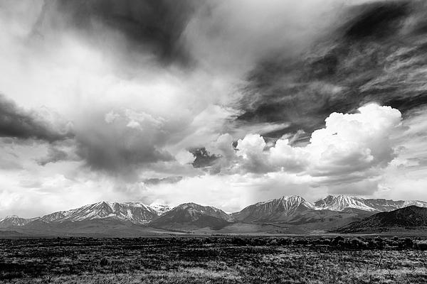 Troy Montemayor - Spring Thunderstorm Eastern Sierra Nevada Mountains