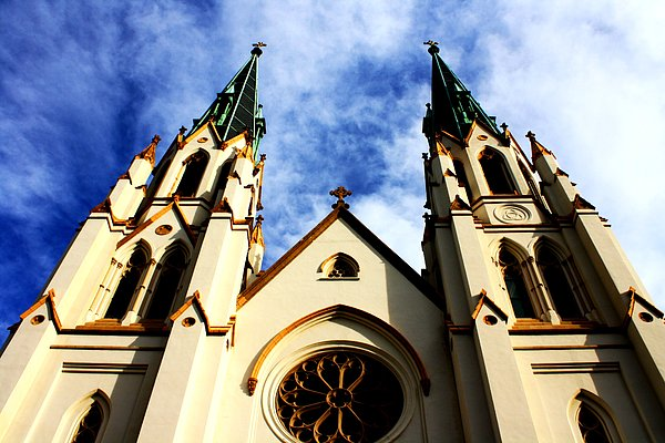 St. John The Baptist Cathedral Print by Dana  Oliver