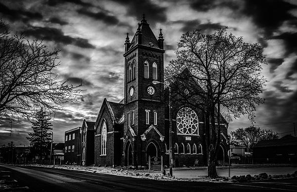 Karl Anderson - St Pauls United Church Milton  Black and White