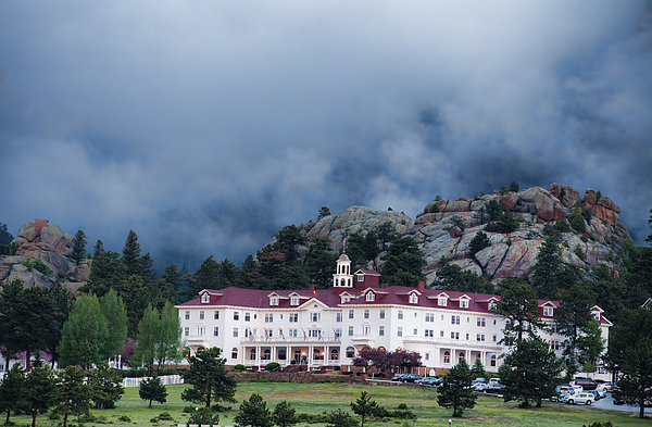 Stanley Hotel At Estes Park Print by Gregory Scott