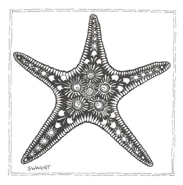 Starfish Print by Stephanie Troxell
