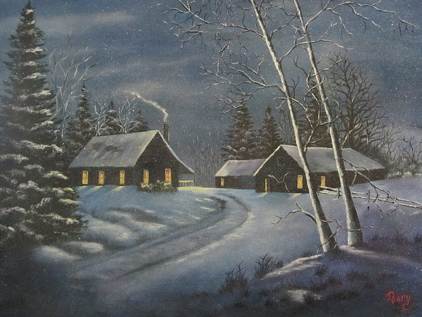 Starry Night Print by Terry Boulerice