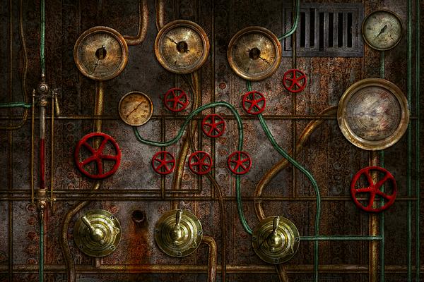 Mike Savad - Steampunk - Plumbing - Job jitters