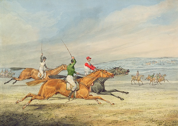 Steeplechasing Print by Henry Thomas Alken
