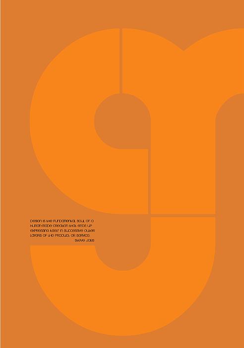 Steve Jobs Quote Poster Print by Naxart Studio