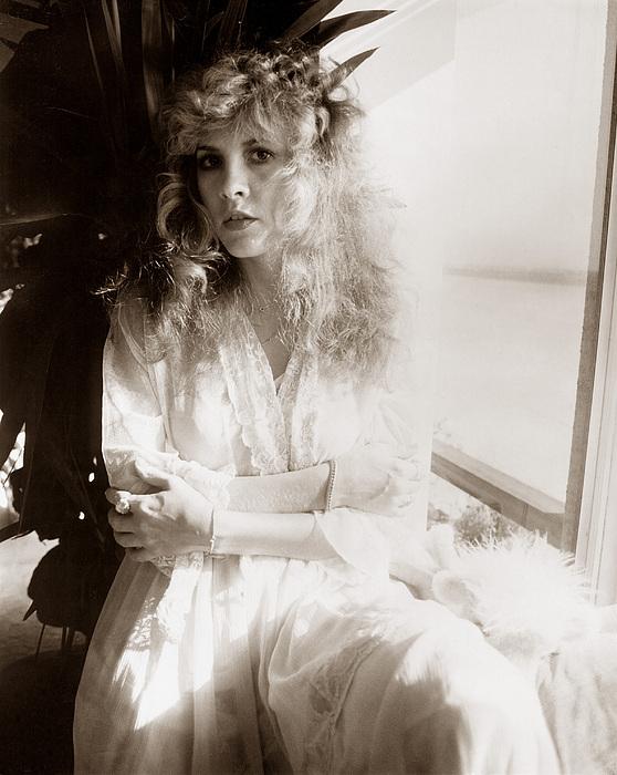 Stevie Nicks Fleetwood Mac Print by Chris Walter