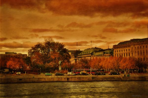Ramon Martinez - Stockholm in Autumn VI