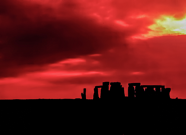 Stonehenge II Print by Steve Harrington