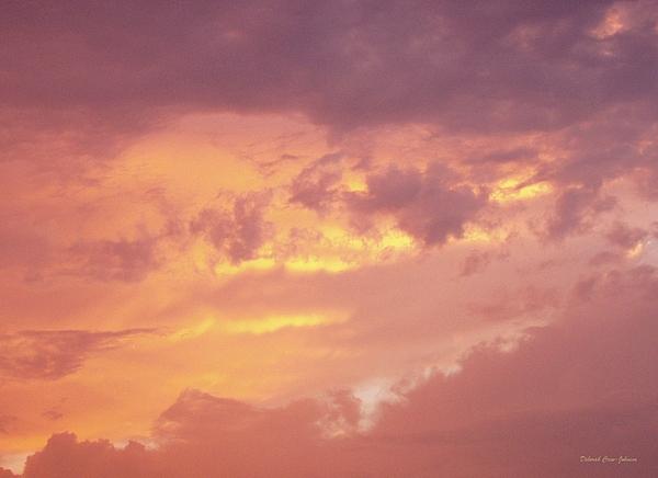 Storm Clouds Print by Deborah  Crew-Johnson