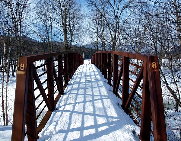 Stowe Vermont Bridge 8 Print by Dave Olsen
