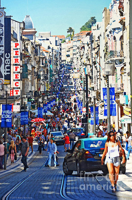 Mary Machare - Street Scene - Portugal