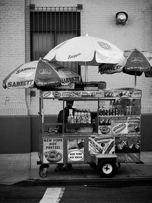 Street Vendor Print by Darren Martin