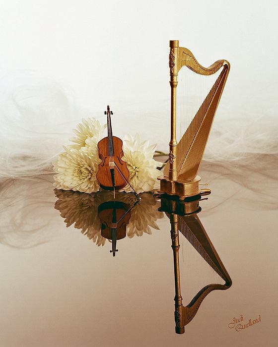 String Duet Print by Judi Quelland
