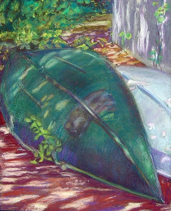 Summerime Overturned Print by Katherine  Berlin