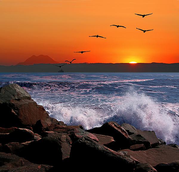 Raymond Klein - Sunrise at Grays Harbor-2