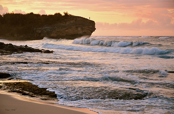 Marie Hicks - Sunrise on Shipwreck Beach