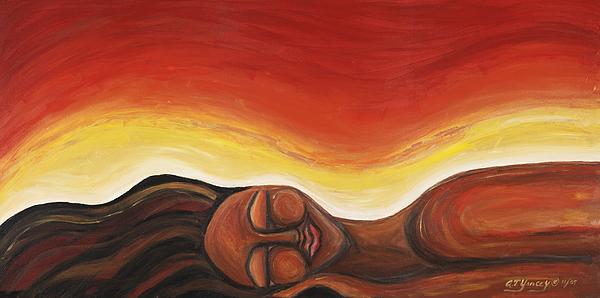 Sunrise Print by Tiffany Yancey