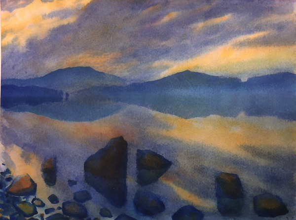 Sunset 3 Print by Valeriy Mavlo