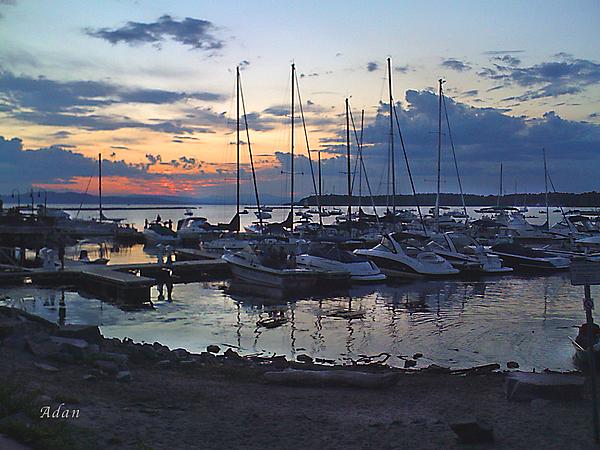 Felipe Adan Lerma - Sunset Dock