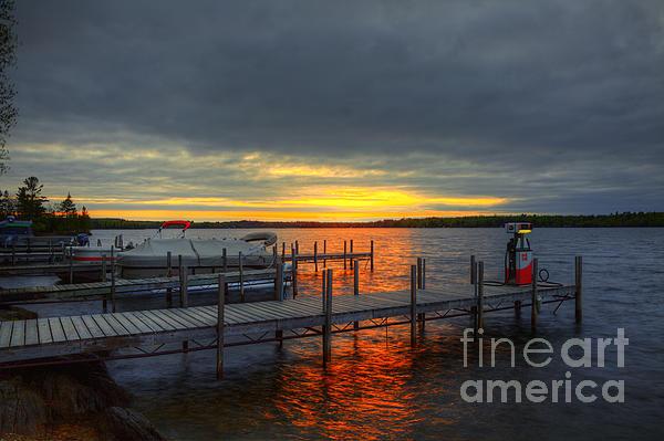 Wayne Moran - Sunset Lake Vermillion Minnesota