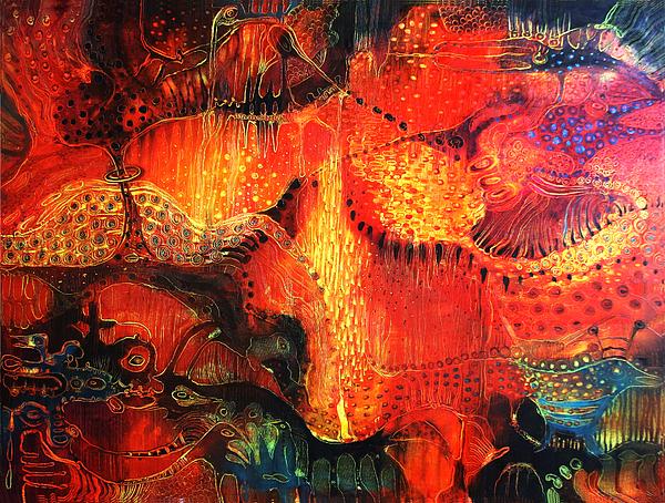 Sunset Mirage II Print by Lolita Bronzini