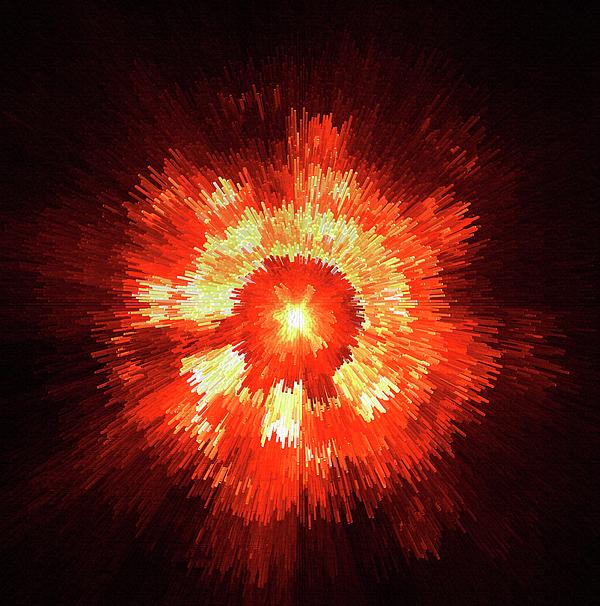 Supernova Print by Stefan Kuhn