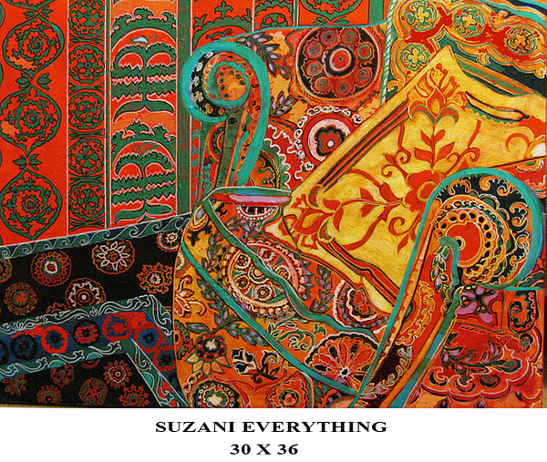 Suzani Everything Print by Linda Arthurs