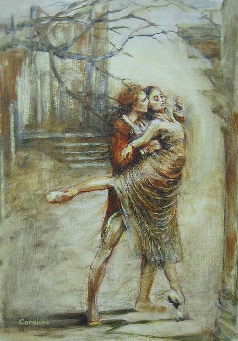 Symphony Of Dreams Print by Caroline Anne Du Toit