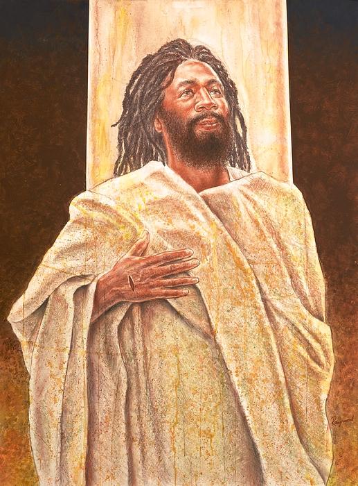 Talkin' Bout Jesus Print by Raymond Walker