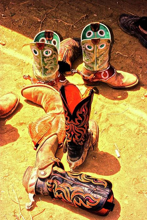 Tall Boots Print by Gus McCrea