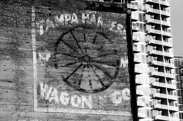 Tampa Harness Wagon N Company Print by David Lee Thompson