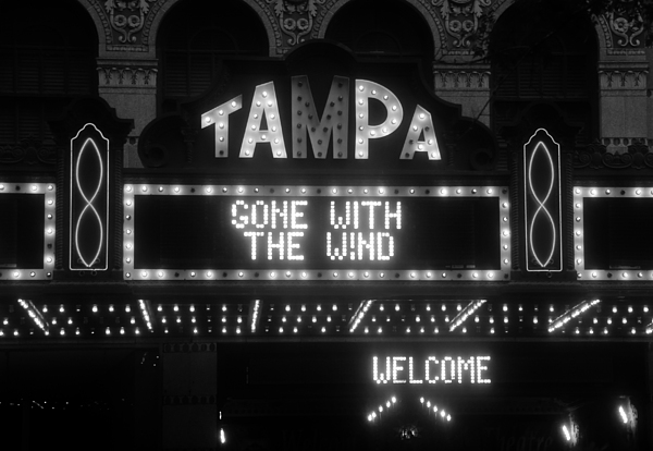 Tampa Theatre 1939 Print by David Lee Thompson
