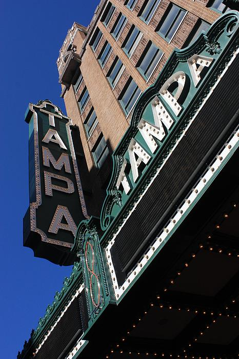 Tampa Theatre Print by Carol Groenen