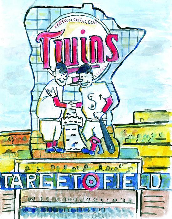 Target Field Print by Matt Gaudian