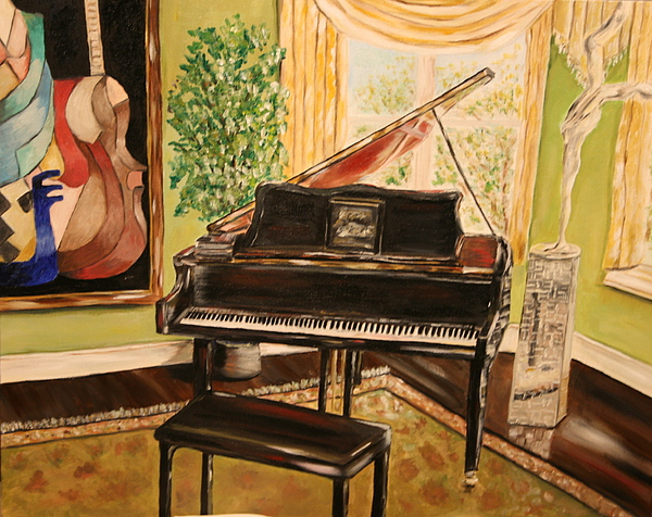 The Art Room Print by Dyanne Parker