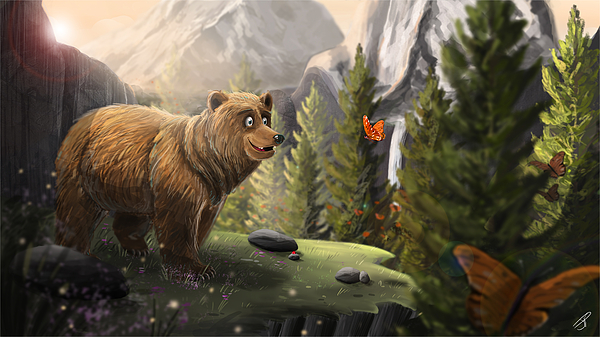 Jamie Price - The Bear and the Butterfly