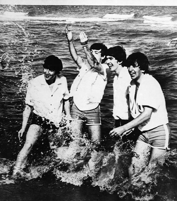 The Beatles, 1964 Print by Granger