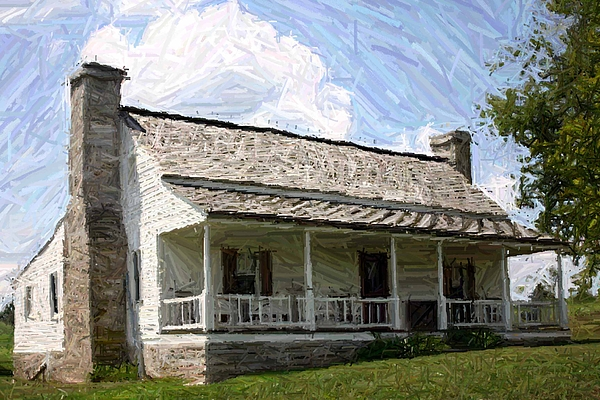 The Bottom House  - Perryville Ky Print by Thia Stover