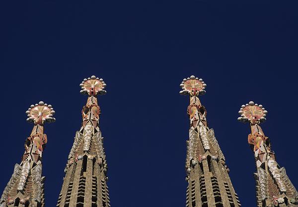 The Church Of La Sagrada Familia Print by Taylor S. Kennedy