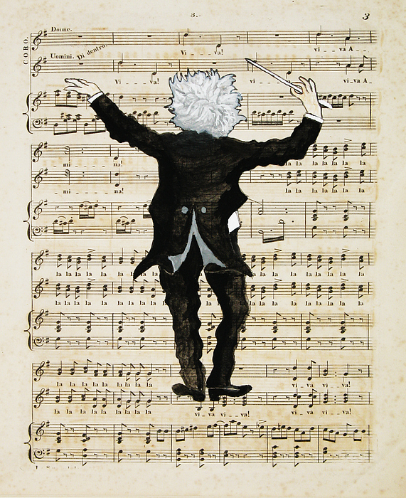 The Conductor Print by Paul Helm
